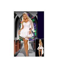 Costume Sexy Mariée Blanc M