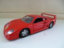 Ferrari F40 - Red - Shell - Maisto - 1/39 - China