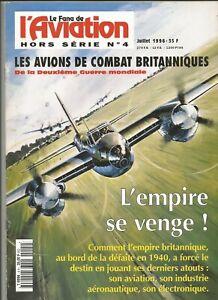 Hors série N°4 du Fana de l'aviation : Les avions de combat britaniques