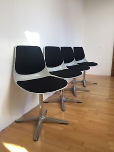 Vintage/Retro Wilkhahn Stühle 70er