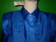 NEW NWT NICOLA SILKY SHIRT TOP DRESS SUIT BLOUSE 8 10 M VINTAGE private auction