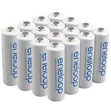 Panasonic Eneloop AA PreCharged Rechargeable Batteries 16 Pk