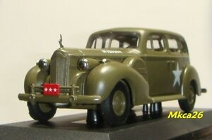 Rextoys 1940 Packard Super Eight 8 Military Diecast 1/43 US Army Command Car