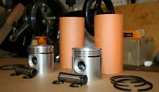 Harley 45 Flathead Cylinder Sleeve & Piston Kit WL G WLA Motor Engine New (106)