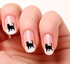 20 Art Ongles Stickers Transferts Stickers #709 - Chat Noir Halloween