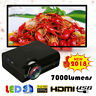 Mini Proyector 1080P HD Casa Teatro Cinema HDMI USB SD VGA AV TV Pantalla