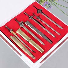 Anime Sword Art Online Set of 5pcs Swords Blades Weapon Pendant Cosplay Gift Boy