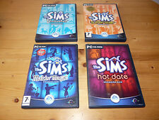 "4 x The Sims - Expansion Packs "" for Windows """