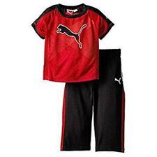 Puma Kinder Jungen Sport Jogginganzug Outfit Sommer T-Shirt + Hose Kids Baby 86
