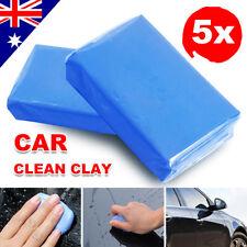 5pcs Detailing Cleaning Bar Magic Car Auto Clean Soap Clay Sludge Mud Remove AU