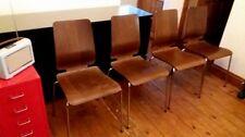 IKEA Chrome Dining Room Chairs