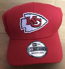 New Era NFL Sideline Collection Kansas City Chiefs Fitted Cap Red Medium/Large