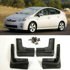 OE Front Rear 4PCS Set Fender Splash Mud Guards Flaps For 10-15 Toyota Prius