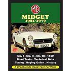 MG Midget 1961-1979 Road Test Portfolio book paper