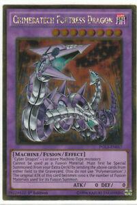 Yugioh | Chimeratech Fortress Dragon - PGL3-EN057 - Gold Rare 1st Edition NM