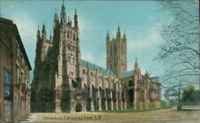 CANTERBURY Canterbury Cathedral Postcard KENT Christian Novels Publishing Co.