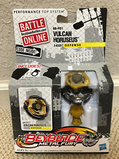 NEW! Beyblade Top METAL FURY Vulcan Horuseus Defense BB-P01 USA HASBRO toys