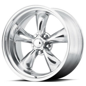 "American Racing VN515 Torq Thrust 2 15x8 5x4.5"" +0mm Polished Wheel Rim 15"" Inch"