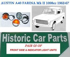 AUSTIN A40 Mk2 1098cc 1962-67 - 2 x Front SIDELIGHT INDICATOR ASSEMBLY