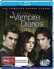 THE VAMPIRE DIARIES The Complete Second Season 2 (4 Disc Blu-ray) - Region B