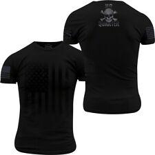 Grunt Style No Quarter T-Shirt - Black