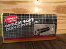 Rokunar 1:1 Magnification Slide Duplicator #SD30 for SLR camera MSRP $79.90