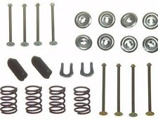 Ford Mustang Rear Drum Brake Shoe Kit Pins Springs Cups 1964 1965 1966 1967 1968