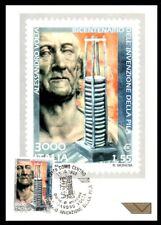 Italy 1999: Alessandro Volta, the stack-Postcard Official Poste Italiane