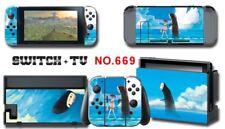 Nintendo Switch Console Joy-Con Skin Sticker Cover #669 a F01