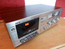 Akai GXC 725D 3 head cassettedeck with NEW belds.