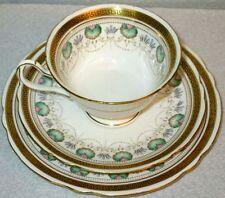 Shelley Antique Art Deco RARE Trio Dessert Plate Cup& Saucer 1913-1926