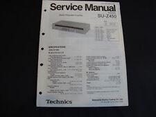 Original Service Manual Technics SU-Z450