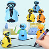 Follow Any Drawn Line Magic Pen Inductive Robot Pig Penguin Model Kids Gift Toy