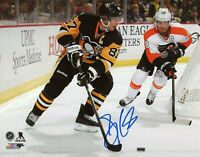Sidney Crosby Autographed Signed 8x10 Photo ( Penguins HOF ) REPRINT ,