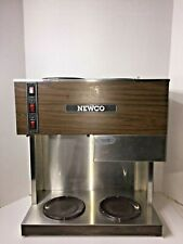 Newco Rd3 Coffee Brewer Stainless Steel Pour Over 3 Burner With Basket Machine