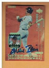 "Willie Blair Autograph 1999 Upper Deck FX Encore ""McGwired"" insert NEW YORK METS"