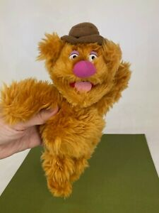 Vintage - The Muppets - Small Fozzie Bear - Soft Toy Plush