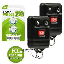 2 Replacement For 1999 2000 2001 2002 2003 2004 Ford F-150 Key Fob