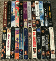 VHS VCR Video Movie Huge Lot T Sci Fi Comedy 24 Mixed (Lesser Condition)