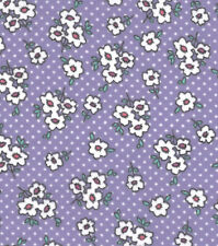 Flannel Fabric GYPSY DITSY FLORAL Pattern 3 yds X 42 in 100% Cotton