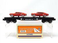 O Scale Lionel 6-36000 Lionel Route 66 Flatcar w/ Sedan Load #9823-1 RTR