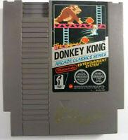 Donkey Kong Arcade Classics Series NES Nintendo PAL