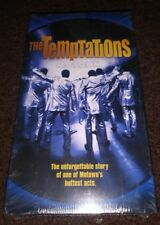 New The Temptations VHS, 1998 Unforgettable Story Of Motown Greats Freeshipping
