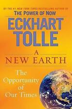 A New Earth: Awakening to Your Life's Purpose..Eckhart Tolle..H/C..L/NEW..lnf222