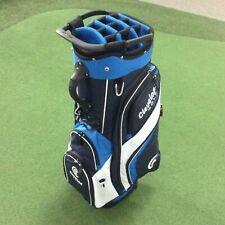 Cleveland Golf Unisex Adult Cart Bag - Navy/Royal/White