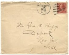 """Philippines 1901 Cover to Usa w/""""Philippines"""" Ovptd. 2c, Bacolod Duplex"""