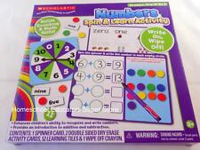 Scholastic Numbers Spin & Learn Activity Homeschool Teacher Classroom Resources