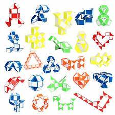 24Pack Fidget Snake Cube, Mini Twist Puzzle Party Bag Fillers Bulk Toys for Kids