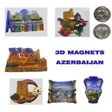 Azerbaijan BAKU 3D FRIDGE MAGNET SOUVENIR