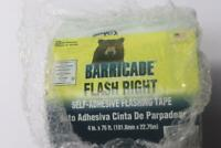 """Pack of 1 - Barricade Building Products AFR4X75 Window & Door Flashing 4"""" x 75'"""